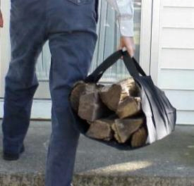 handy firewood carrier
