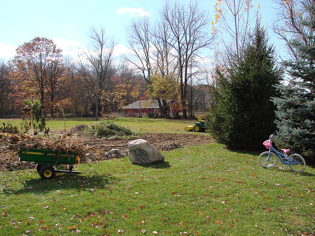 Cleaning up your fall garden