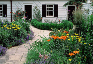 Creating an english garden